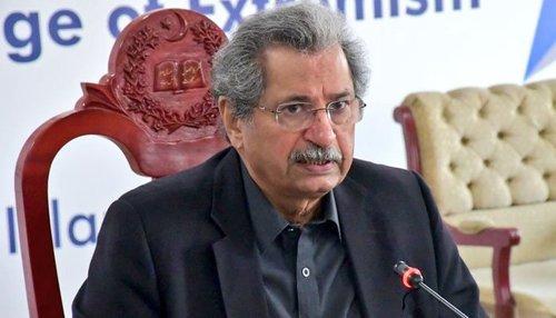 Shafqat Mahmood criticizes PML-N for doing politics on exam issue