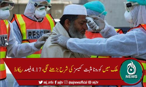 پاکستان میں کورونا وائرس سے مزید 24 اموات، 1,980 نئے کیسز رپورٹ
