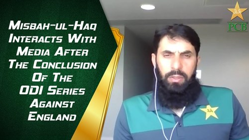 Misbah Ul Haq concerned after Pakistan's disappointing ODI performance against England
