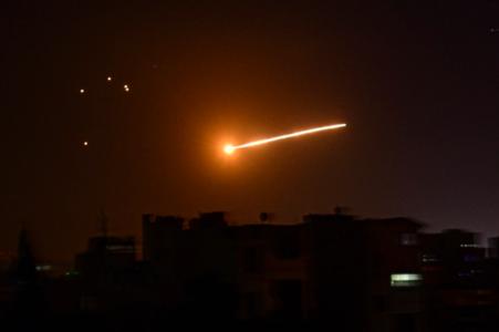 Syria intercepts Israeli missiles: state media