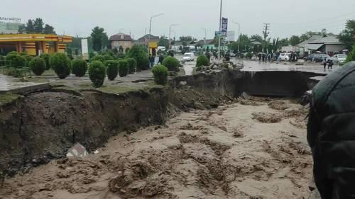 Mudslides in Tajikistan leave at least 10 dead