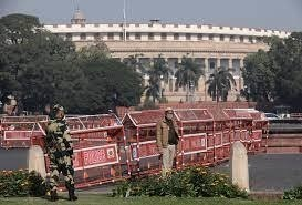 Angry Indian farmers to protest near parliament