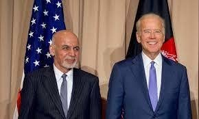Biden assures Afghan president of continued U.S. support: -White House