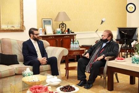 Nawaz meeting with Afghan NSA advisor draws criticism