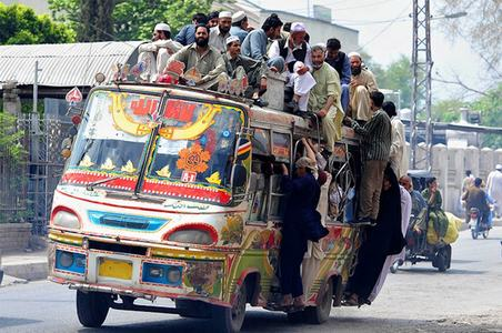Green scheme for polluting bus owners in Peshawar inches along