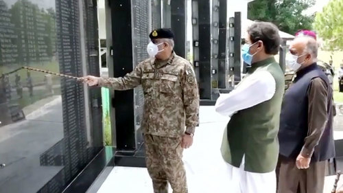 PM Imran briefed on ongoing stabilization operation, prevalent security situation