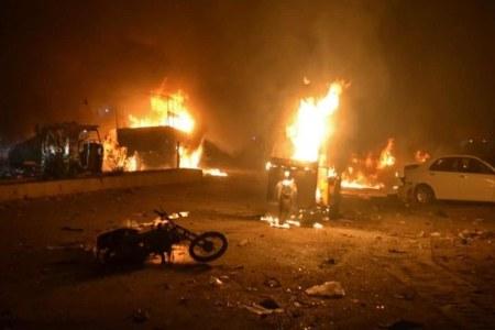 Shehbaz condemns Quetta blast, calls for focusing on NAP
