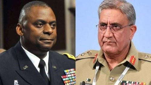 Gen Bajwa, US counterpart discuss security, stability in region
