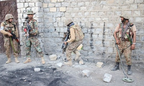 Security personnel martyred in exchange of fire with terrorists