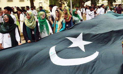 President asks nation to follow Quaid's ideal on 75th Independence Day