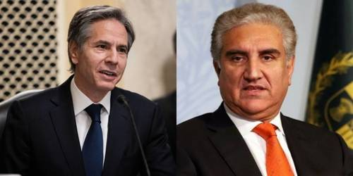 FM Qureshi, Blinken discuss rapidly changing situation in Afghanistan