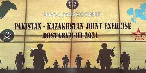 Pakistan-Kazakhstan Joint Military Exercise 'Dostarym III' begins today