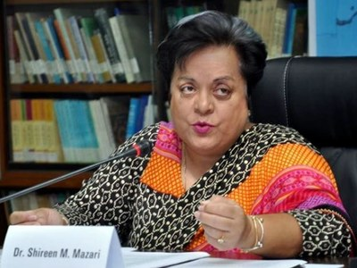 Shireen Mazari criticised for restricting comments on enforced disappearance Twitter post