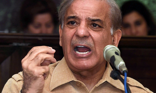 Shahbaz Sharif's tears up talking about Karachi's poor state