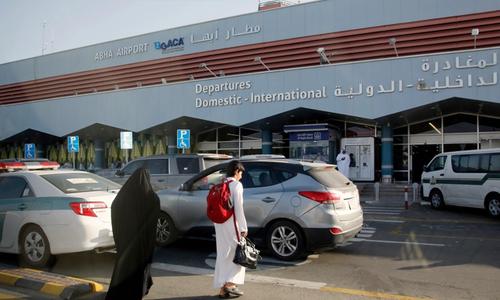 حوثی باغیوں کا سعودی عرب کے شہر ابھا کے ایئر پورٹ پر حملہ