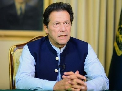غیر معمولی موسم کے باوجود تربیلا ڈیم بھرگیا، وزیراعظم عمران خان