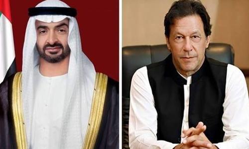 وزیر اعظم عمران خان کی ابوظہبی کے ولی عہد سے ٹیلی فونک گفتگو