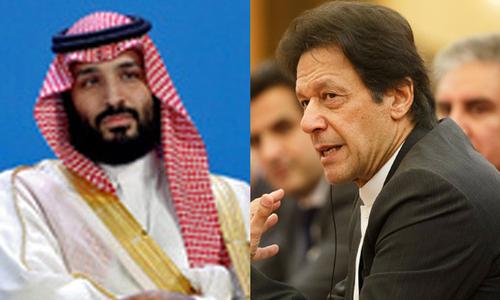 وزیر اعظم عمران خان اور سعودی ولی عہد کے درمیان ٹیلی فونک رابطہ، اہم امور پر گفتگو