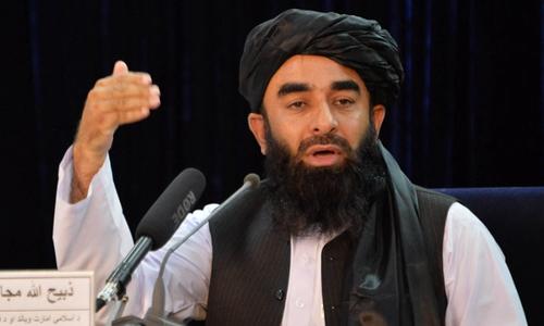 طالبان کا افغانستان میں عبوری حکومت کا اعلان