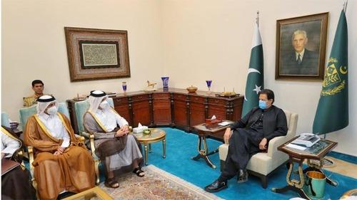 وزیر اعظم عمران خان کی قطر کے نائب وزیراعظم اور وزیر خارجہ سے ملاقات