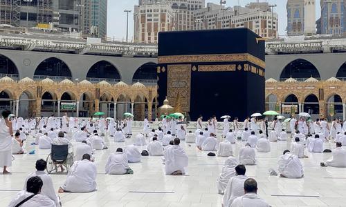 سعودی عرب: بلااجازت عمرہ ادا کرنے کی کوشش پر بھاری جرمانہ عائد کرنے کا اعلان