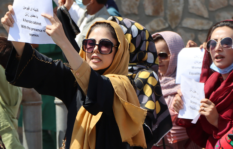 Women are at the forefront of protests against the Taliban