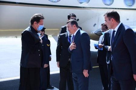 PM Imran arrives in Tajikistan to attend SCO summit