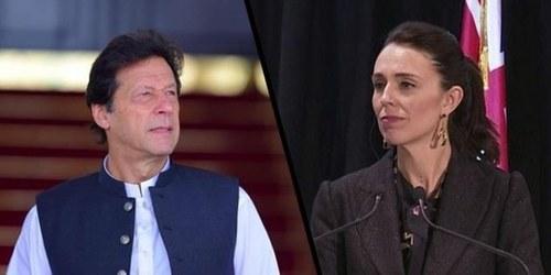 کرکٹ ٹیم کا دورہ منسوخ: وزیراعظم عمران خان اور جیسنڈا آرڈن کا ٹیلی فونک رابطہ