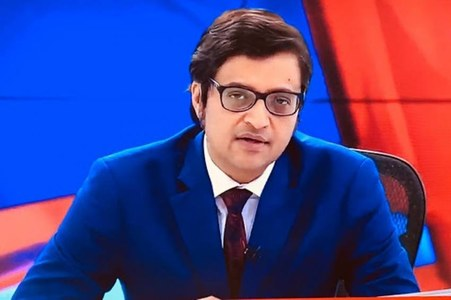"""Pakistanis take to Twitter to thrash Arnab Goswami for """"5th floor"""" claims"""