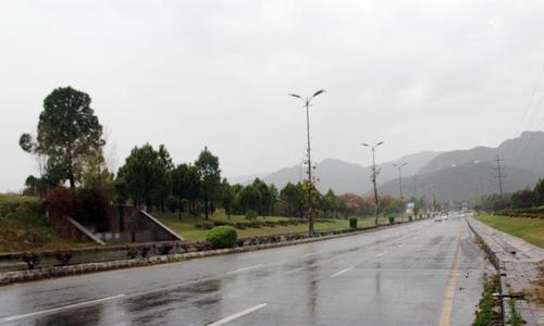 راولپنڈی اور اسلام آباد میں بارش سے موسم خوشگوار، گرمی کا زور ٹوٹ گیا