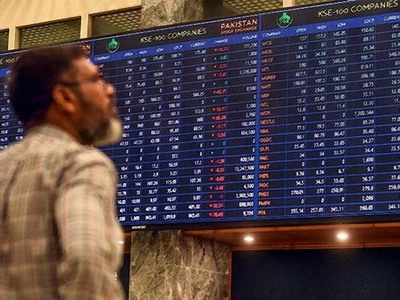PSX continues bearish trend, loses 519 points