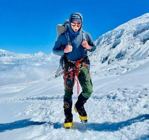 Shehroze Kashif summits world's 8th highest mountain