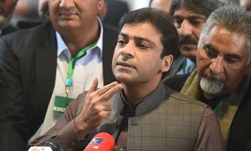 PTI govt miserably failed on every front: Hamza