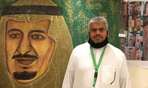 سکّوں سے فن پارے بنانے والا سعودی شہری گینز بک آف ریکارڈز میں شامل ہونے کا خواہشمند