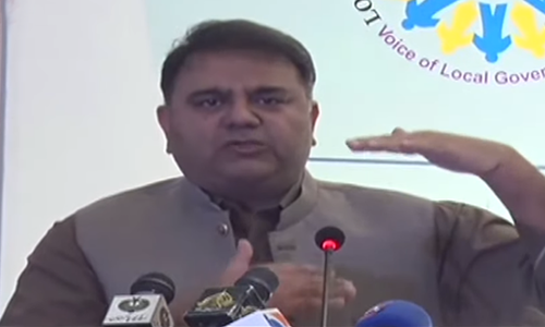 Delaying local body election was govt's mistake: Fawad