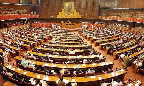 کالعدم ٹی ٹی پی سے مذاکرات، اپوزیشن کا پارلیمانی اجلاس بلانے کا مطالبہ