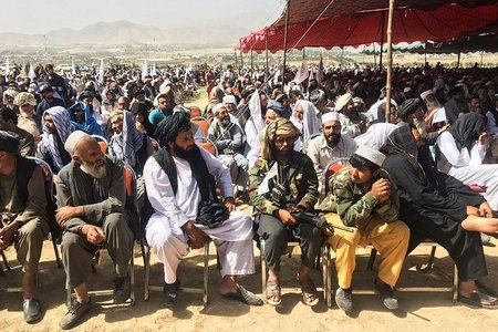 Taliban hold victory rally outside Kabul as they consolidate rule