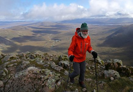 Meet the 81-year-old climbing Scottish mountains for his sick wife