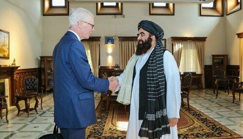 British envoy in Kabul as Taliban seek to break isolation