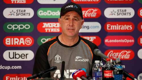 NZ coach Stead says no tension around T20 opener against Pakistan