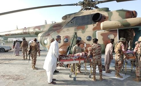 ہرنائی کے زلزلہ متاثرہ علاقوں میں امدادی سرگرمیاں، پاک فوج کے دستے پہنچ گئے