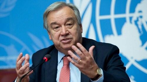 اقوام متحدہ کے سیکرٹری جنرل کا پاکستان میں زلزلے پر افسوس کا اظہار
