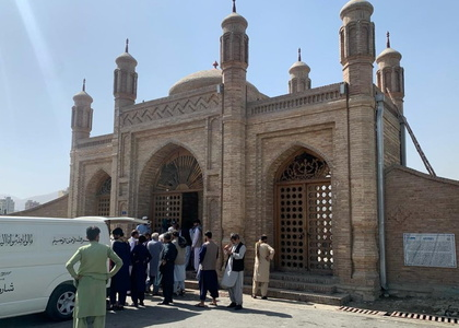 More than 100 killed, wounded in mosque blast in Afghanistan