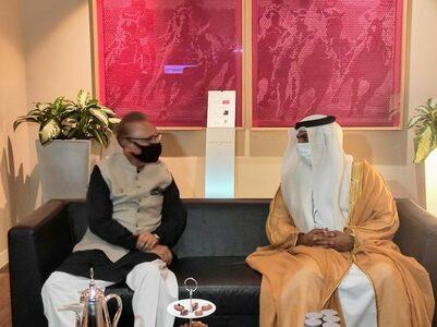 President Alvi arrives in UAE on two‑day visit