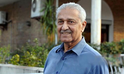 ڈاکٹر عبدالقدیر خان کو سرکاری اعزاز کے ساتھ سپرد خاک کیا جائے گا