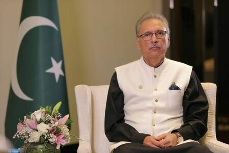 Pakistan is not an active player in Afghanistan: President Alvi
