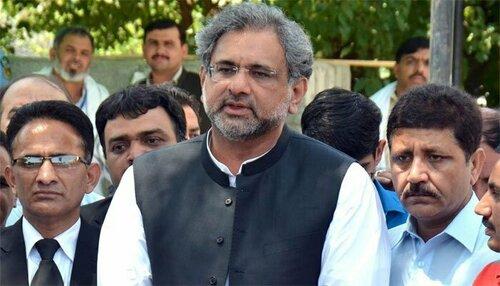 سابق وزیراعظم شاہد خاقان عباسی کا نیب آرڈیننس کو چیلنج کرنے کا اعلان