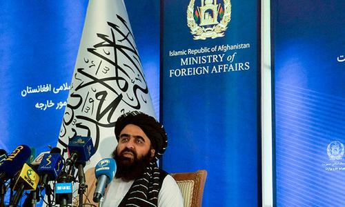 افغان وزیر خارجہ کی دنیا سے اچھے تعلقات کی اپیل، لڑکیوں کی تعلیم پر پختہ عزم سے گریز