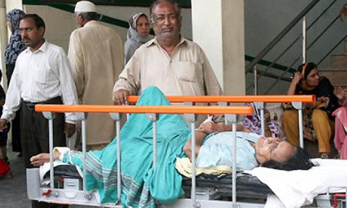 لاہور: ڈینگی ،سرکاری اسپتال میں سہولتیں ناکافی