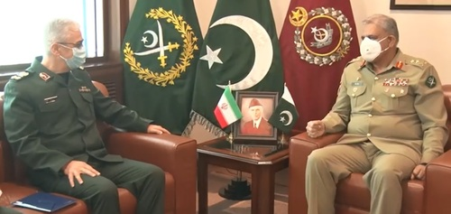 Iran, Pakistan military leaders agree to enhance defence cooperation